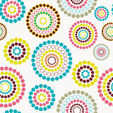 Abstract seamless background pattern. Vector illustration Stock Photos