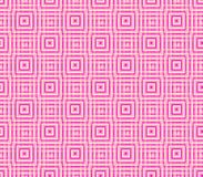 Abstract seamless background of pink and white lines and squares. Abstract seamless strips and small squares of pink and white lined in rows to form a continuous Stock Photography