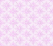 Abstract seamless background of pink and white lines and squares. Abstract seamless strips and small squares of pink and white lined in rows to form a continuous Royalty Free Stock Images