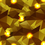 Abstract seamless background of polygons Stock Images