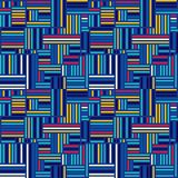 Abstract seamless background. Vector geometric lines pattern. Pattern for textiles and packaging. Royalty Free Stock Photos