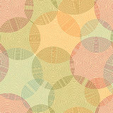Abstract seamless background  of rings. Vector Stock Images