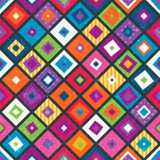 Abstract seamless background with squares. Royalty Free Stock Photo
