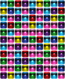 Abstract seamless background tetris Stock Photography