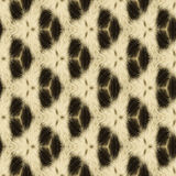 Abstract seamless background or texture made of leopard fur. Stock Photo
