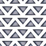 Abstract seamless background with triangles Stock Photography