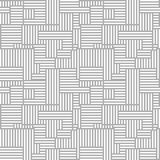 Abstract seamless background. Vector geometric lines pattern. Pattern for textiles and packaging. Stock Image