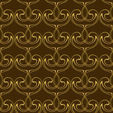 Abstract seamless background. Abstract seamless wallpaper pattern.Golden background for your design.Vector illustration Royalty Free Stock Photos