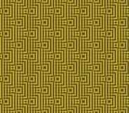 Abstract seamless background of yellow and black lines and squares. Abstract seamless strips and small squares of yellow and black lined in rows to form a Stock Photo
