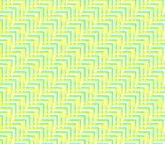 Abstract seamless background of yellow and white and blue lines and angles. Abstract seamless strips and corners yellow and white and blue lined in rows to form Royalty Free Stock Photography