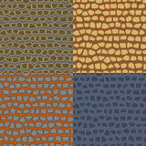 Abstract seamless backgrounds of the stone wall Royalty Free Stock Image