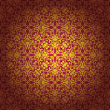 Abstract seamless baroque background Stock Photo