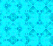 Abstract seamless black and blue lines and squares. Abstract seamless strips and small squares of black and blue lined in rows to form a continuous pattern Stock Photo