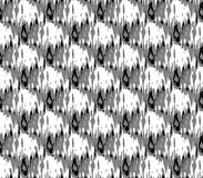 Abstract seamless black and white and gray spots and lines around the figure Royalty Free Stock Photos