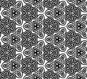 Abstract seamless black and white pattern Royalty Free Stock Image
