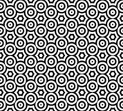 Abstract seamless black and white pattern royalty free stock images