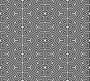 Abstract seamless black and white pattern royalty free stock photo