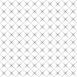 Abstract seamless black and white pattern of rhombuses Royalty Free Stock Images