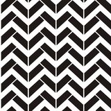 Abstract seamless black and white pattern with strips royalty free stock photography