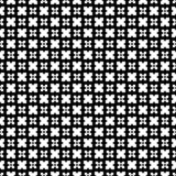 Abstract geometric seamless pattern in black and white, vector. Design, industrial. royalty free illustration