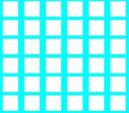 Abstract seamless blue background white squares. Are laid out in rows and form a continuous pattern Royalty Free Stock Photos