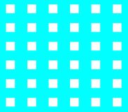 Abstract seamless blue background white squares. Are laid out in rows and form a continuous pattern Stock Photo
