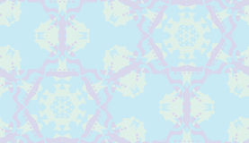 Abstract Seamless Blue Doily Stock Photos
