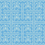 Abstract seamless blue pattern Stock Photo