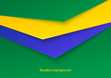 Abstract seamless brazilian background. Abstact seamless brazilian background. Vector illustrator Stock Photos