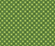 Abstract seamless bright modern pattern. Green, yellow, black colors Stock Photography