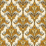 Abstract seamless bright pattern 2 Royalty Free Stock Images