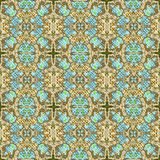 Abstract seamless canvas pattern. Royalty Free Stock Image