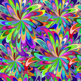 Abstract seamless carnival patern Royalty Free Stock Photos