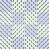 Abstract seamless checkered pattern. Diagonal chain of rhombuses in cells Stock Photography