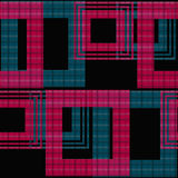 Abstract seamless checkered plaid pattern Stock Image