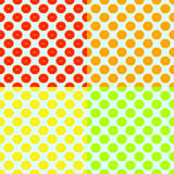 Abstract seamless color background with citrus-fruit Royalty Free Stock Images