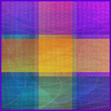 Abstract Seamless Color Background. Abstract Seamless Background with Colorful Geometrical Figures. Eps10, Contains Transparencies. Vector Stock Images