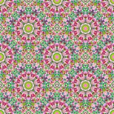 Abstract Seamless Color Geometric Vector Pattern Stock Photo