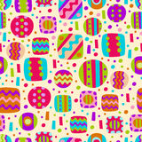 Abstract seamless color pattern. For textiles, interior design, for book design, website background Stock Photography