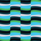 Abstract seamless colored stripes pattern. Abstract seamless colored stripes pattern stock illustration
