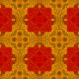 Abstract seamless colorful kaleidoscopic pattern Royalty Free Stock Photo