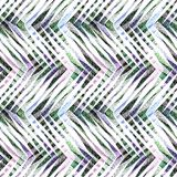 Abstract seamless colorful multicolor zigzag geometric pattern. Light background Stock Photography