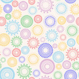 Abstract seamless. This is an abstract colorful seamless pattern of geometric shapes Stock Photos