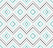 Abstract seamless colorful pattern. Modern stylish background with rhombus elements. Royalty Free Stock Images