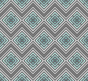 Abstract seamless colorful pattern. Modern stylish background with rhombus elements. Royalty Free Stock Photos