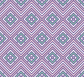 Abstract seamless colorful pattern. Modern stylish background with rhombus elements. Royalty Free Stock Photo