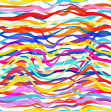 Abstract Seamless Colorful Striped Background Royalty Free Stock Photography