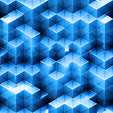 Abstract seamless cube background Royalty Free Stock Image