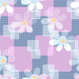 Abstract seamless cute floral pattern background Royalty Free Stock Photography
