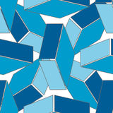 Abstract seamless 3d rhombus pattern. Background Stock Photo